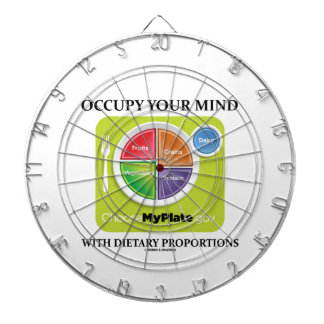 Occupy Your Mind With Dietary Proportions MyPlate Dart Board