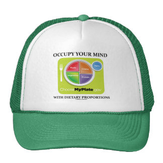 Occupy Your Mind With Dietary Proportions MyPlate Hat
