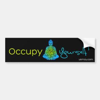 Occupy Yourself Bumpersticker Bumper Stickers