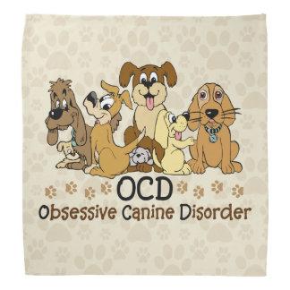 OCD Obsessive Canine Disorder Bandannas