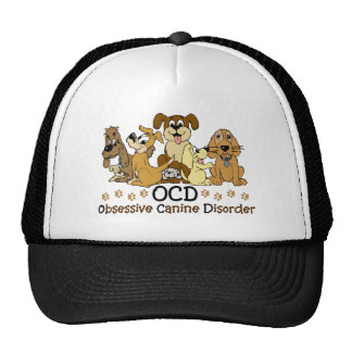 OCD Obsessive Canine Disorder Cap