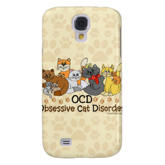 OCD Obsessive Cat Disorder Galaxy S4 Case