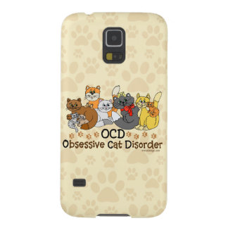 OCD Obsessive Cat Disorder Galaxy S5 Case