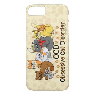 OCD Obsessive Cat Disorder iPhone 7 Case