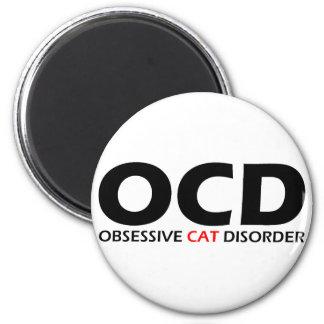 OCD - Obsessive Cat Disorder Magnet