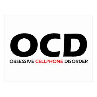 OCD - Obsessive Cellphone Disorder Post Cards