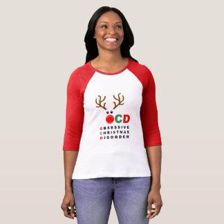 OCD Obsessive Christmas Disorder funny Holiday mug T-Shirt