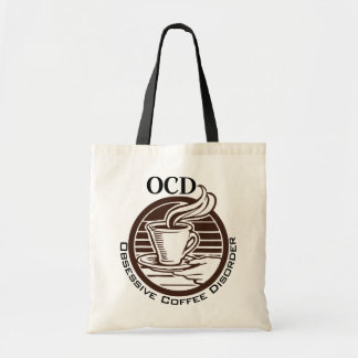 OCD: Obsessive Coffee Disorder Budget Tote Bag