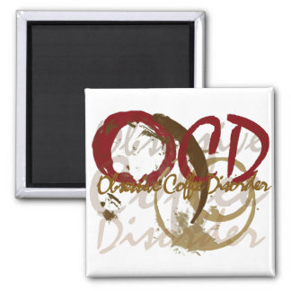 OCD - Obsessive Coffee Disorder Gifts Magnet