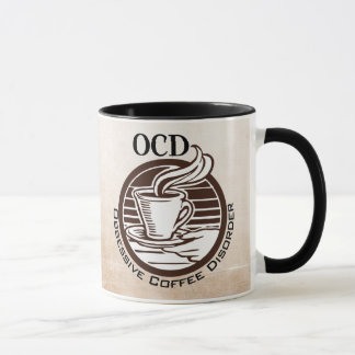 OCD: Obsessive Coffee Disorder Mug