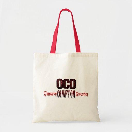 OCD- Obsessive Compton Disorder Canvas Bag