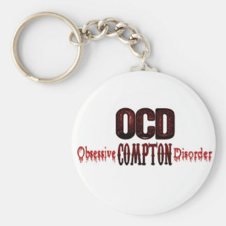 OCD- Obsessive Compton Disorder Key Ring
