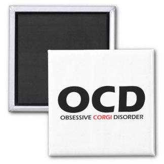 OCD - Obsessive Corgi Disorder Magnet