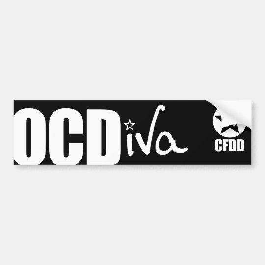 OCDiva Bumper Sticker