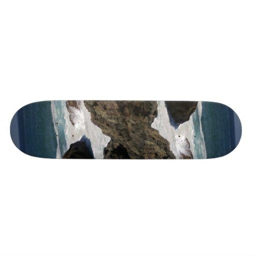 Ocean #4 skateboard deck