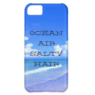 Ocean Air Salty Hair Cover For iPhone 5C