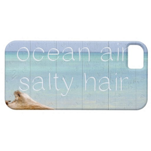 Ocean Air Salty Hair Cover For iPhone 5/5S