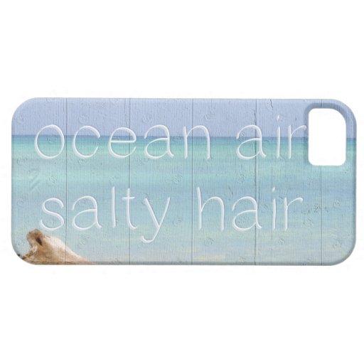 Ocean Air Salty Hair iPhone Case iPhone 5/5S Covers