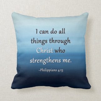 Ocean Air Scripture Pillow