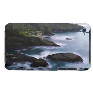 Ocean and rocky shore of remote area 2 iPod Case-Mate case
