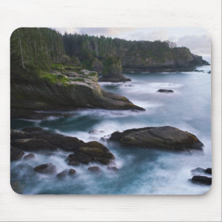 Ocean and rocky shore of remote area 2 mouse mat
