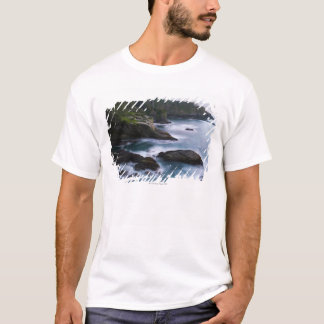 Ocean and rocky shore of remote area 2 T-Shirt