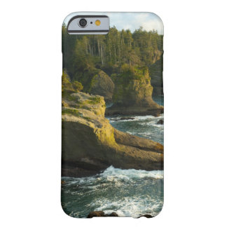 Ocean and rocky shore of remote area barely there iPhone 6 case