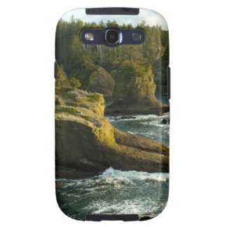 Ocean and rocky shore of remote area galaxy s3 cover