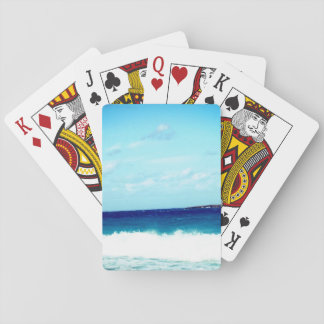 Ocean and Waves Playing Cards