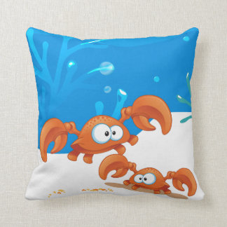Ocean Aquatic  Cute Crab Pillow