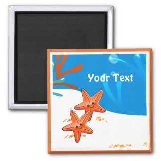 Ocean Aquatic Cute Starfish Custom Magnet