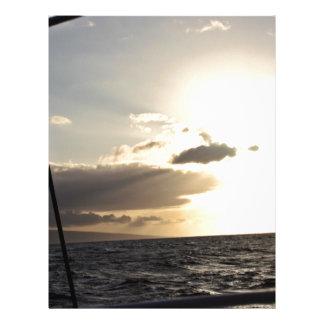 Ocean at Sunset Full Color Flyer