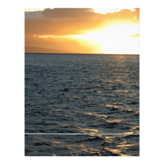 Ocean at Sunset Custom Flyer