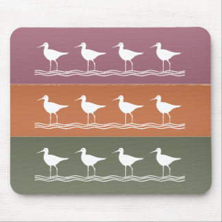 Ocean Beach : Birds Crane Fisher Mouse Pad