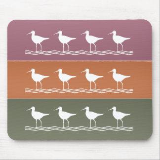 Ocean Beach : Birds Crane Fisher Mouse Pad