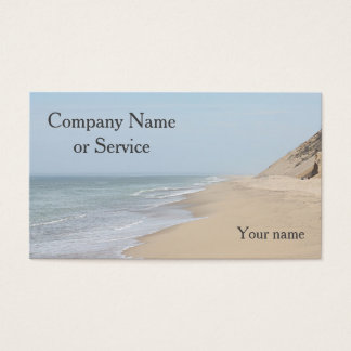 Ocean Beach Business Card