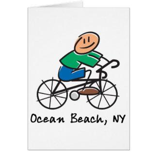 Ocean Beach NY Greeting Card