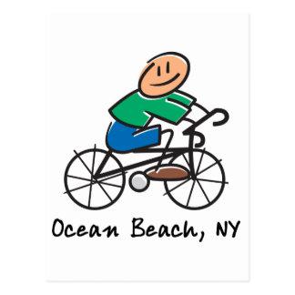 Ocean Beach NY Postcard