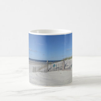 Ocean beach on Cape Cod Coffee Mug