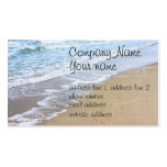 Ocean beach photo pack of standard business cards