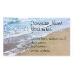Ocean beach photo pack of standard business cards