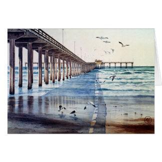 OCEAN BEACH PIER CARD