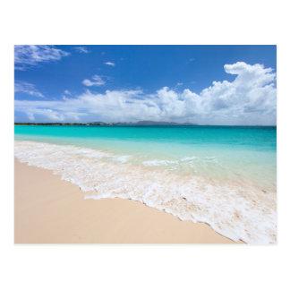 Ocean beach postcard