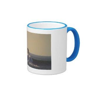 Ocean Beach San Francisco Ringer Mug