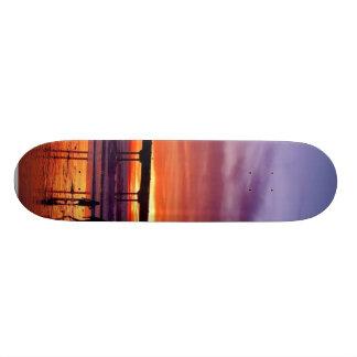 Ocean Beach Sunset Skateboard Decks