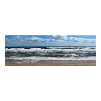 Ocean Beach Surf Photo Print