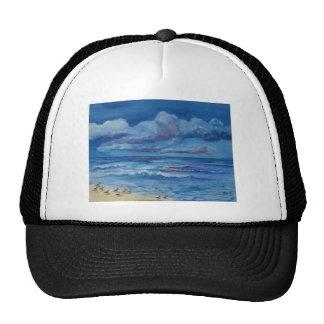 Ocean Birds Mesh Hat