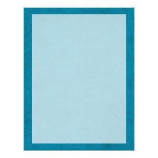 Ocean Blue Color Velvet Custom Home Casino 21.5 Cm X 28 Cm Flyer