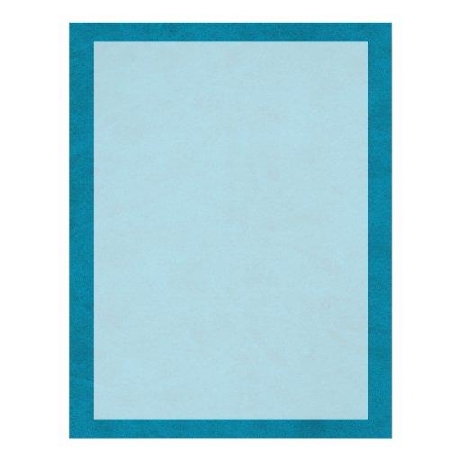 Ocean Blue Color Velvet Custom Home Casino Full Color Flyer