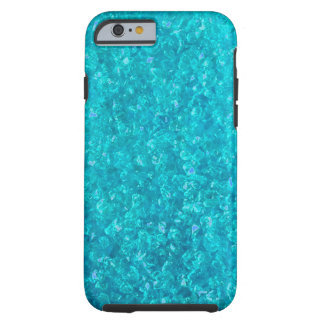Ocean Blue Crushed Glass iPhone 6 case
